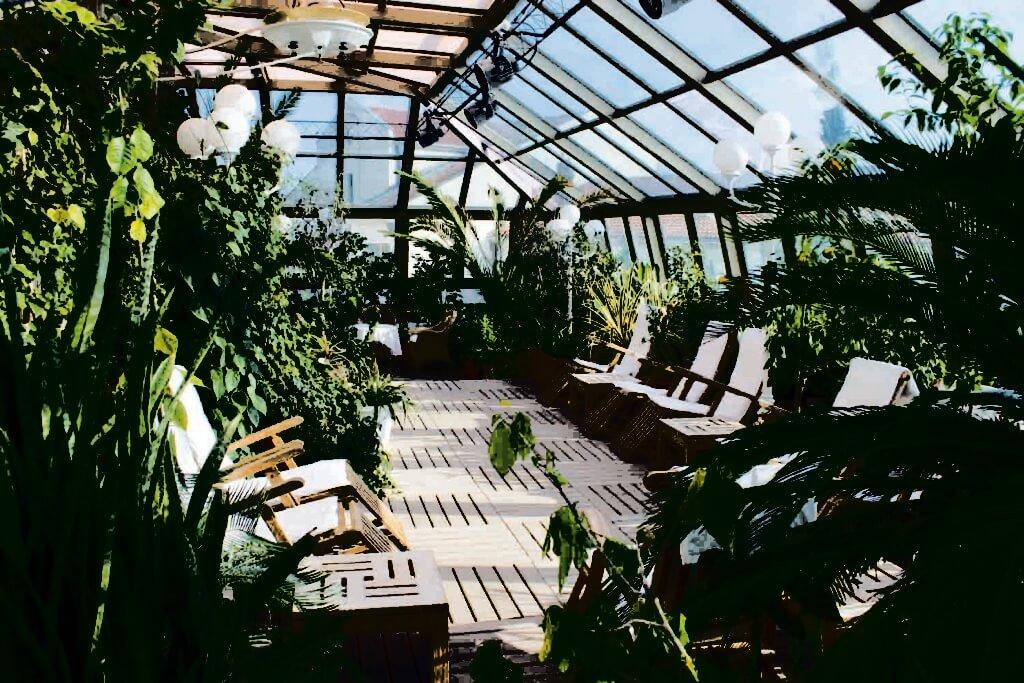 Беседка-зимний сад