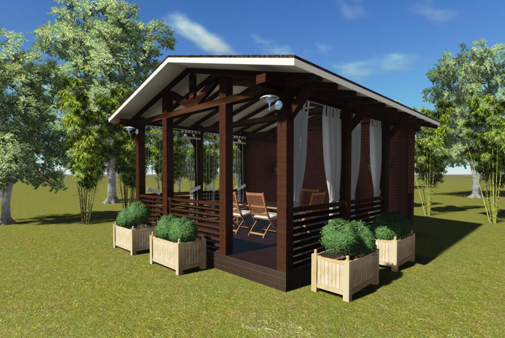 Деревянная конструкция 2